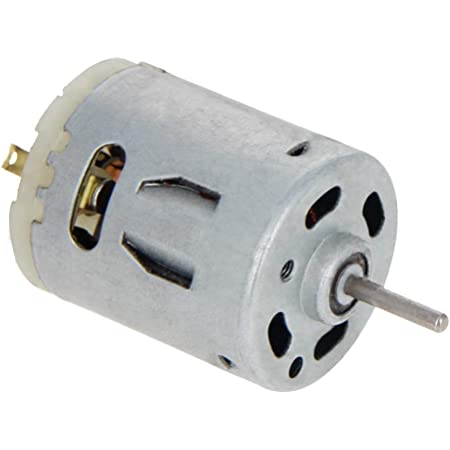 1 Pcs Fielect DC Motor 1.5-6V 5000-20000RPM Micro Motor Mini Motor Electric Motor Round Shaft for RC Boat DIY Airplane Toys Model DIY Hobby