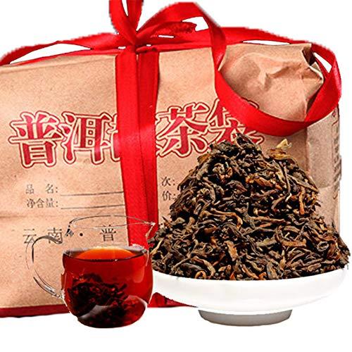 chino yunnan original Puer té 500g (1.1LB) té de la salud té maduro Pu'er té negro té chino té Pu er Té maduro Puerh té comida saludable Pu-erh té árboles viejos té Pu erh té cocido té rojo