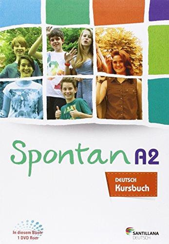 SPONTAN A2-B1 KURSBUCH + ARBEITSHEFT + DVD ROM - 9788416146055