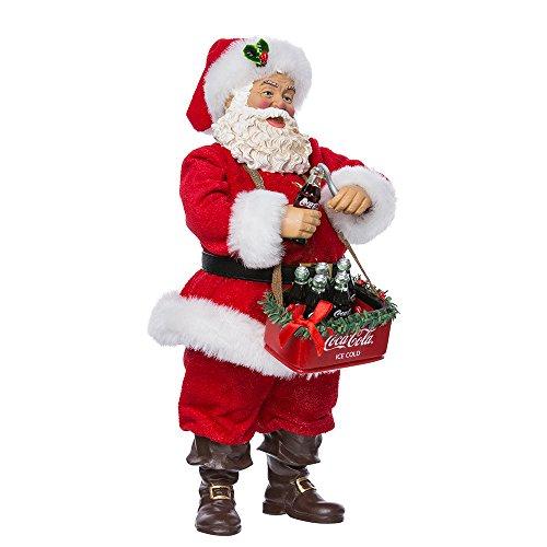 Kurt Adler Décoration de Table pour Coca Motif Père Noël 25,