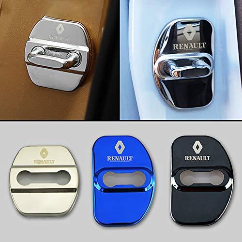 4 stks/set Anti Roest Autodeurslot Beschermhoes Voor Renault Koleos Megane 2 Auto Styling Accessoires