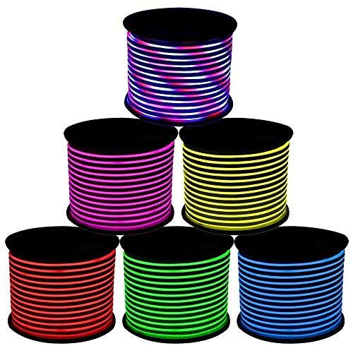 GreenSun LED Lighting Flexible Ruban à LED, 20m RGB Bande LED Lumineuses aux couleurs changeantes, étanche IP65 LED Bande lumière Pour Les Jardins, Maisons, Cuisine, Fête de Noël décoration
