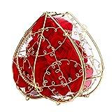 Handgemachte Seife Goosun 6 Rose Seifenblume Im Vergoldet Geschenkbox Blumen Kunstwerk Seifenblumen...