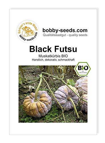 Black Futsu Bio Kürbissamen von Bobby-Seeds Portion