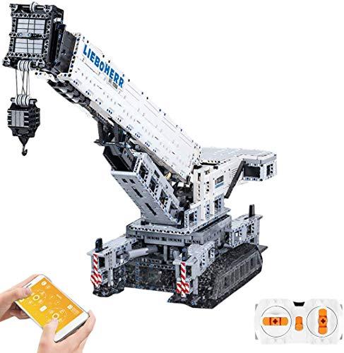 lego technics liebherr Ditzz Technic Gru Liebherr LTM11200 Set di Costruzione