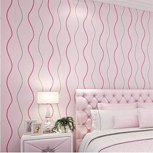 Lovemq Graue Streifen Tapete Rolls Für Wände Home Decor Tv Hintergrund Kinderzimmer 3D Tapeten Wandverkleidungen-400X280Cm