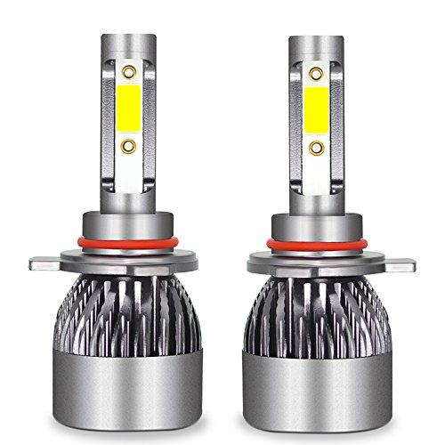 Ampoule De Phare LED Tout-En-Un Kit De Conversion-H1, H4, H7, H11, 9005, 9012-3200LM 6000K Cool White 360 Degré D'éclairage Pour Remplacement De Lampe De Voiture,9012