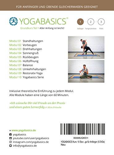 YOGABASICS Grundkurs 10 Stunden Yoga für Anfänger - 2