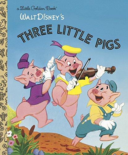 3 LITTLE PIGS (DISNEY CLASSIC) (Little Golden Books)