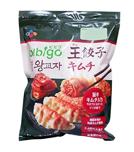 ビビゴ 王餃子 (キムチ) 1kg 韓国餃子 (35g×29個)【冷凍】ギフト にも 美味しい お取り寄せ