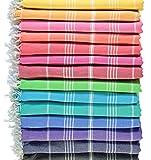 LOOMANGO (Set of 6) Original 100% Cotton 70'x39' Bath and Beach...