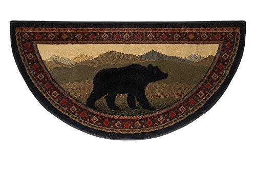 Oriental Classic Bear Hearth Rug