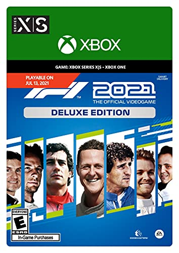 F1 2021: Deluxe - Xbox [Digital Code] is $48.74 (35% off)