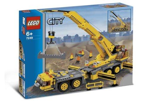 LEGO City 7249 - Mobiler Baukran