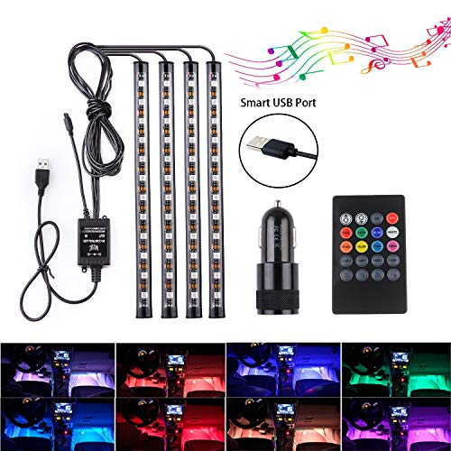 Car LED Strip Lights, Speclux 48...