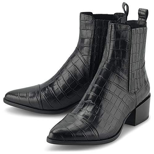 Vagabond Damen Marja Chelsea-Stiefel, Black, 40 EU