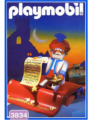Playmobil 3834 Fliegender Teppich mit Sultan