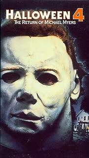 Halloween 4 VHS
