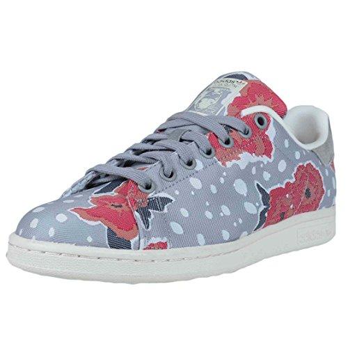 adidas Stan Smith Sportliche Damen-Schuhe, (grau-pink), 39 EU