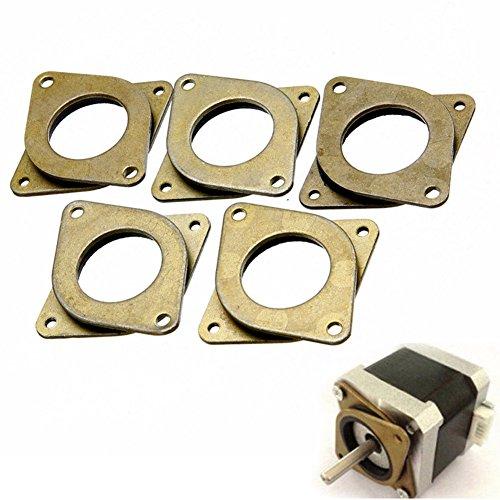 Crewell Stoßdämpfer, 5 Stk. Motorenstoßdämpfer, für 3D-Drucker Nema 17