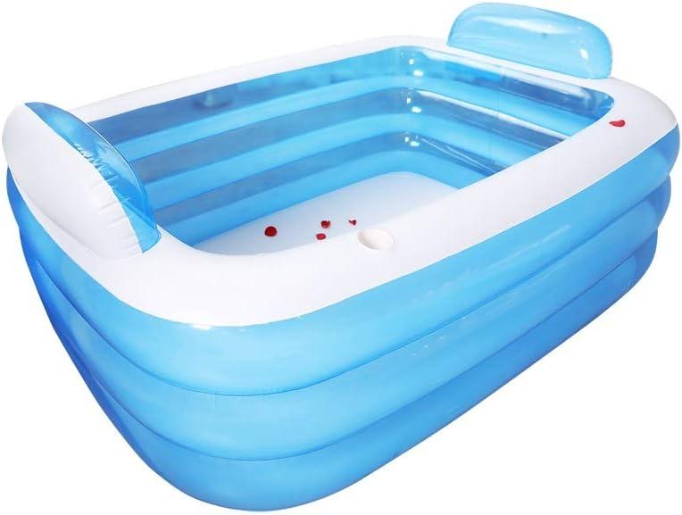 ZSP Piscina del Patio Trasero Baño de Gran tamaño Barril Hogar Baño Inflable for Adultos Aislamiento Plegable Baño Barril Baño for niños Baño de plástico Piscina para niños