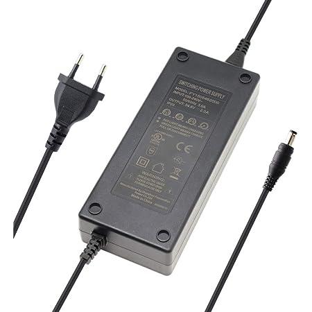 42V 5A Netzteil Ladegerät Adapter für 36V Akkus Prophete Alu Trecking Aldi Rex