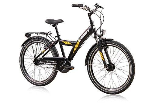 City Rider 24 Zoll ATB Jungen, Jugend-Fahrrad 21-Gang Kettenschaltung
