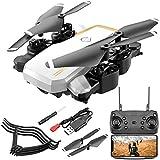 DEAR-JY Drones,Drone Quadcopter portátil de cámara en Tiempo Real de 30W / 500W HD,Mando a Distancia de 2.4Ghz Cámara única sin Cabeza Altitud barométrica Hold Fly for Training,Blanco,30W Pixels