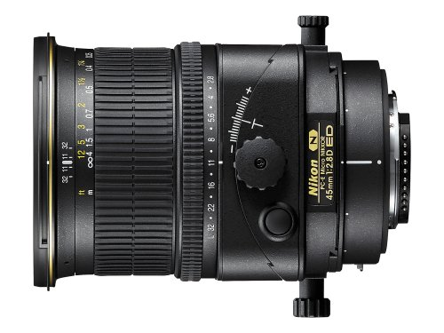 Nikon PC-E FX Micro NIKKOR 45mm f/2.8D ED Fixed Zoom Lens for Nikon DSLR Cameras