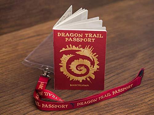 Pasaporte de la Ruta de los Dragones   Barcelona: Passaport de la Ruta dels Dracs de Barcelona