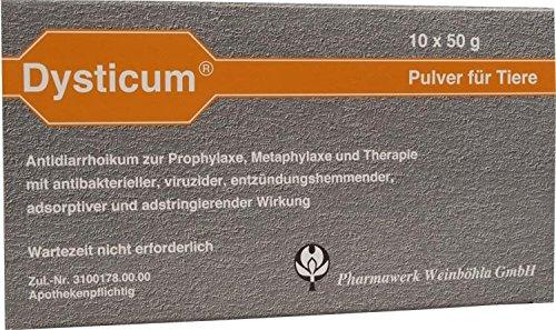 DYSTICUM Pulver vet. 10X50 g