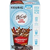 McCafe Unsweetened Premium Roast Iced Coffee K-Cup Pods, Caffeinated, 10 ct - 4.33 oz Box