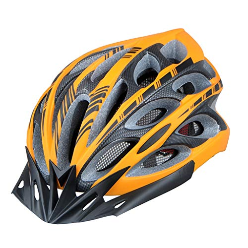 XIUXIU Fahrradhelm für Mountainbike, Mountainbike, Radkappe, für Damen und Herren gelb