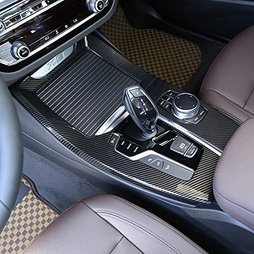 Carbon Fiber Style für X3 G01 2018 Jahr Auto ABS Mittelkonsole Schalthebel Dekoration Panel Blende Zubehör