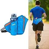 Hüfttasche mit Wasserflasche Halter, Outdoor Sport Taille Tasche Fanny Tasche wasserdicht Laufband...