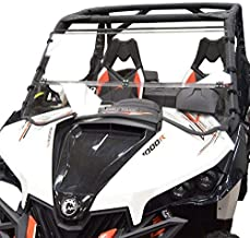 Clearly Tough Can Am Maverick Windshield - Full Folding -Scratch Resistant- The Ultimate in Side by Side Versatility!Premium Polycarbonate w/Hard Coatmade in America!!