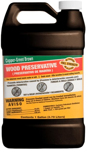 Green Products 33001 Copper Brown Wood Preservative