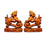 FTFTO Living Equipment Ornaments Desktop Pi Xiu Decor Mejor Regalo de felicitación de inauguración de la casa Feng Shui Set Pi Xiu Figurine Attract Wealth and Good Luck Feng Shui Decor Desktop Crafts