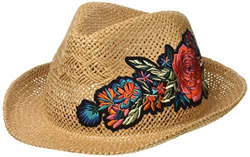 Barts Vrouwen Oudon Panama Hoed, Beige (Natuurlijke 7), Een (Maat: UNI)