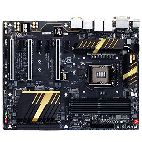 Ajuste para Gigabyte GA Z170X UD5 Placa Base Original LGA 1151 Core I7 I5 I3 DDR4 64GB PCI-E 3.0 M.2 Z170X UD5 Placa Base de Escritorio