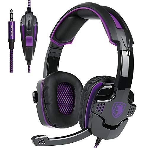 Updated Gaming Headphones,SADES SA930 Wired 3.5mm...