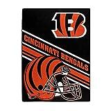 The Northwest Company NFL Cincinnati Bengals Slant Silk Touch Throw Blanket, 60' x 80'