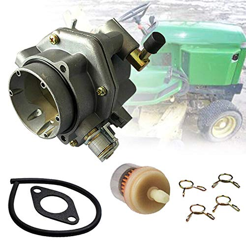Best Bargain Montree Shop Old Stock Fit for Nikki Onan Carburetor Fits John Deere 316 317 318 P218G ...