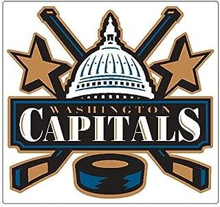 Kramer sticker's shop Washington Capitals Poster | Size - 6 Window Laptop Bumper Patch | Washington Capitals Vinyl Decal