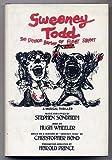 Sweeney Todd, the demon barber of Fleet Street: A musical thriller by Stephen Sondheim and Hugh Wheeler (1979-12-23)