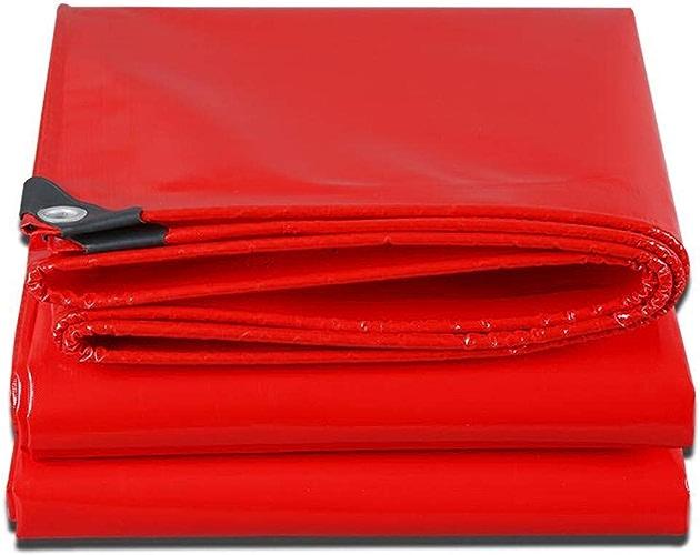 Bache de Prougeection imperméable Auvent épilation au Cire Rouge 3  4m (Taille   4  5m)