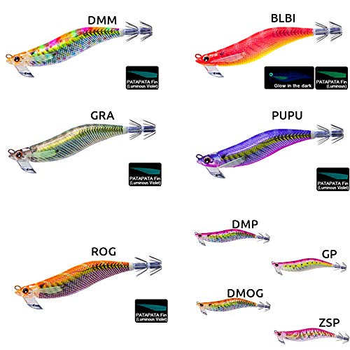 DUEL(デュエル) ルアー エギ EZ-Q マグキャスト 3.5号 10 ZRP 重量:19g A1698-ZRP-ゼブラレッドピンク(モンスターマスター) 重心移動 遠投