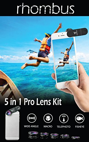 [ PRlME DAY ] Iphone 相机镜头套件附件套装带外壳 - 智能手机配件手机相机镜头附件 - 变焦电视光 fisheye 摄影效果配件 - Android Iphone 6 7 8 plus X