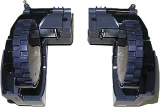 iRobot Roomba (ルンバ) 500 600 700 800 900シリーズモデル専用サイドブラシモジュールモーター ルンバタイヤ 、ダストボックス、メインボード、アナンシエータ(800 900 シリーズホイールLR)