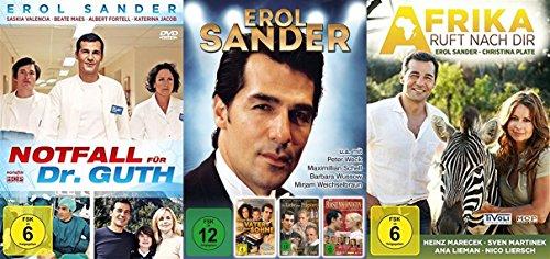 EROL SANDER Liebesfilme Edition DIE ROSENKÖNIGIN + WENN DER VATER MIT DEM SOHNE + AFRIKA RUFT NACH DIR + NOTFALL FÜR DR. GUTH +